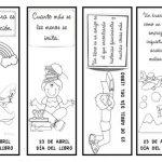 Imágenes del Día del Libro para colorear