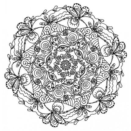 Flores para colorear fciles dificiles y hermosas  Colorear