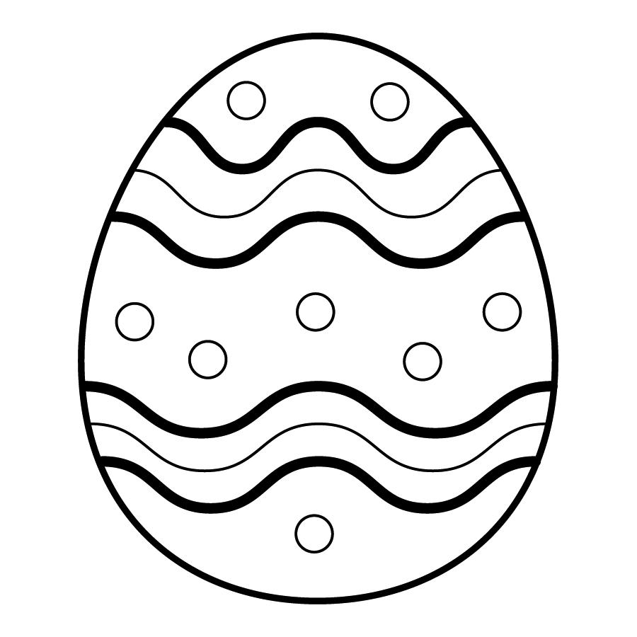 Im genes de huevos de pascua para colorear colorear im genes for Como pintar huevos de pascua