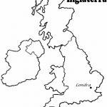 Dibujos de Mapas de Europa y paises para colorear