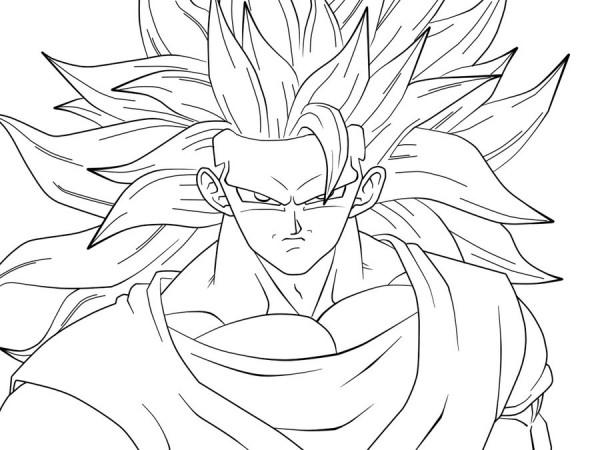 Im genes de Goku y sus transformaciones
