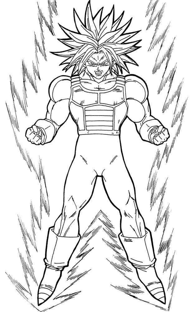 Im genes de Goku y sus transformaciones para colorear