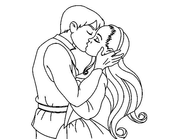 dibujos para colorear de amor romanticos