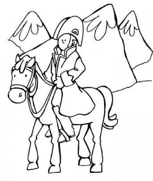 Imágenes del General José de San Martín para colorear ...
