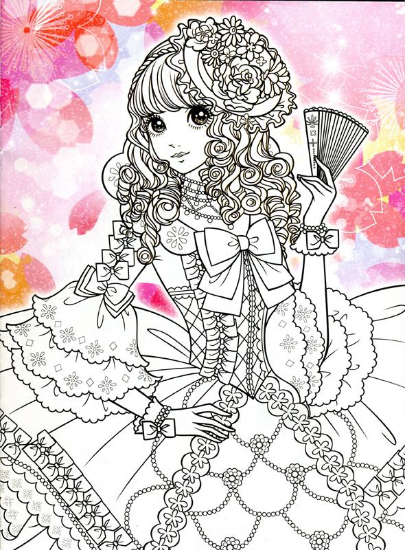 Imágenes kawaii (60 dibujos para colorear)   Colorear imágenes