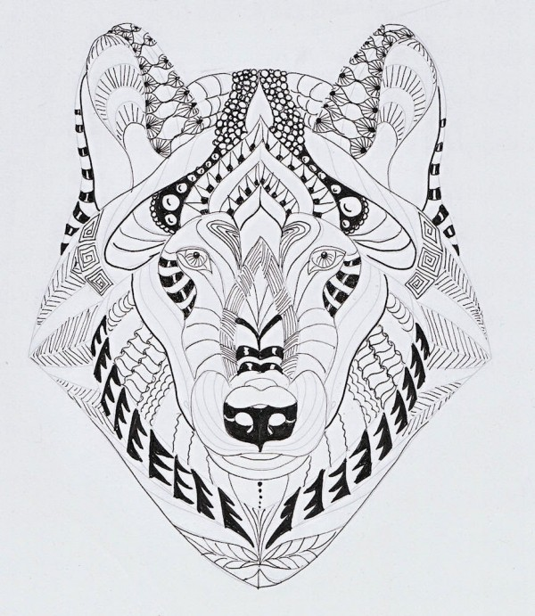 60 Mandalas de Animales para Colorear (Zentangles ...