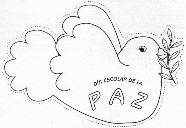 Día De La Paz Galería De Dibujos Y Carteles Niños Del: Imágenes Para Colorear Dibujos Del Día De La Paz