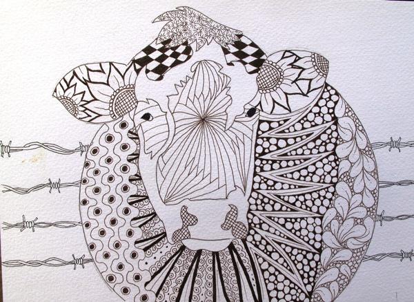 Mandalas Para Colorear Con Animales Y Zentangles: 60 Mandalas De Animales Para Colorear (Zentangles