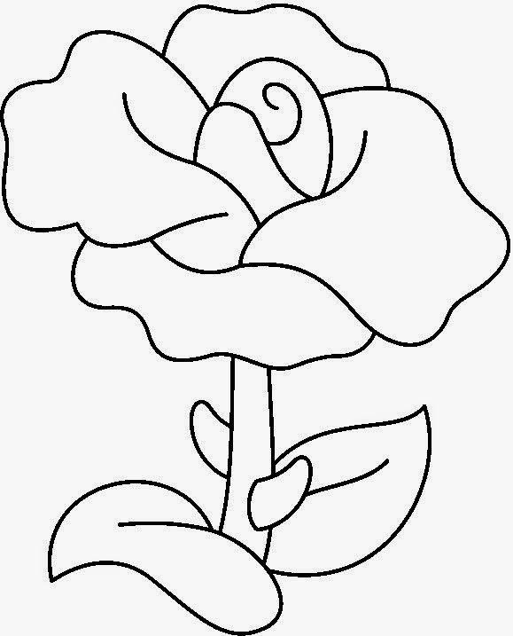 60 Dibujos fáciles para colorear los más pequeños ...