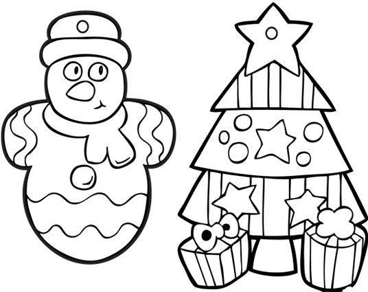 Dibujos Para Colorear Arboles Navidenos: Imágenes De Navidad Para Colorear: árboles, Estrellas