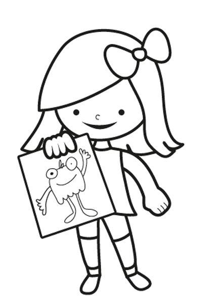 Dibujo De Rosa Para Colorear Dibujos Net