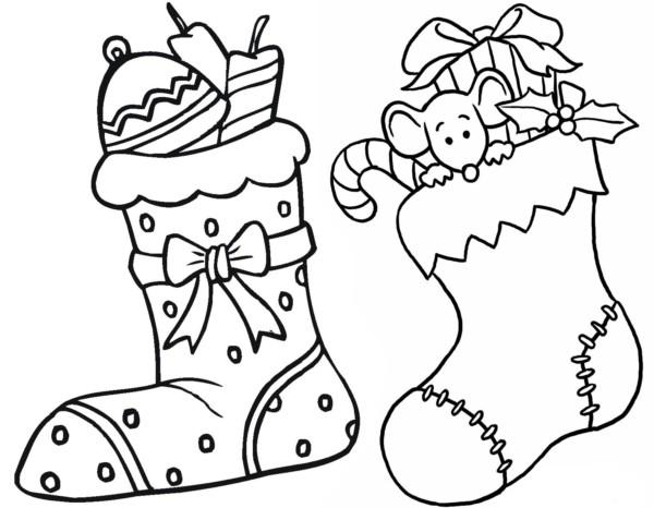 Niño Abriendo Un Regalo Dibujos Para Pintar: Regalos De Navidad Para Colorear Dibujos