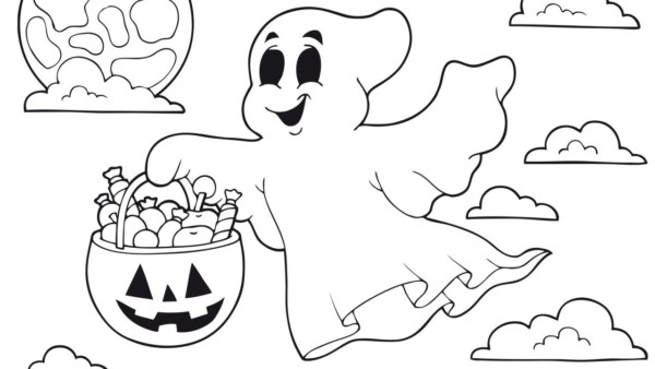 Dibujos De Halloween Disney Para Colorear E Imprimir: 60 Dibujos De TERROR Para COLOREAR En HALLOWEEN