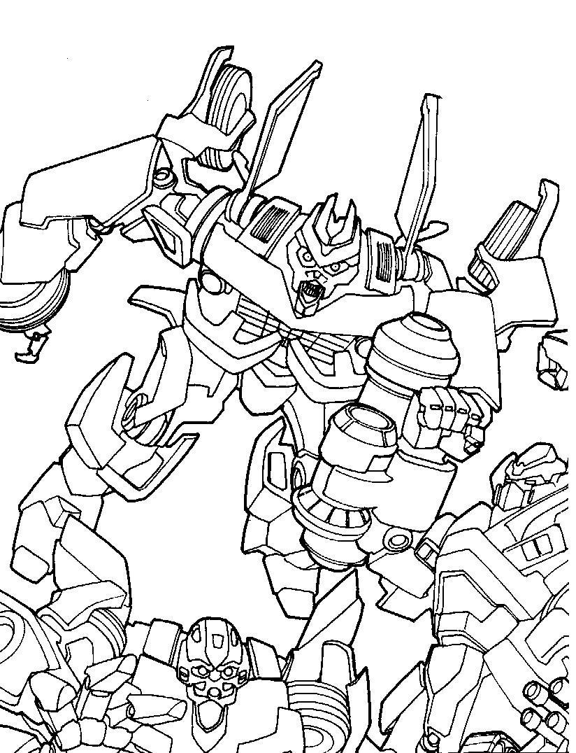 Dibujos de Transformers para colorear | Colorear imágenes