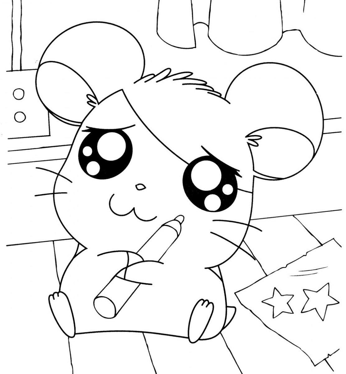 Dibujos para colorear de h msters colorear im genes for Imagenes movibles anime