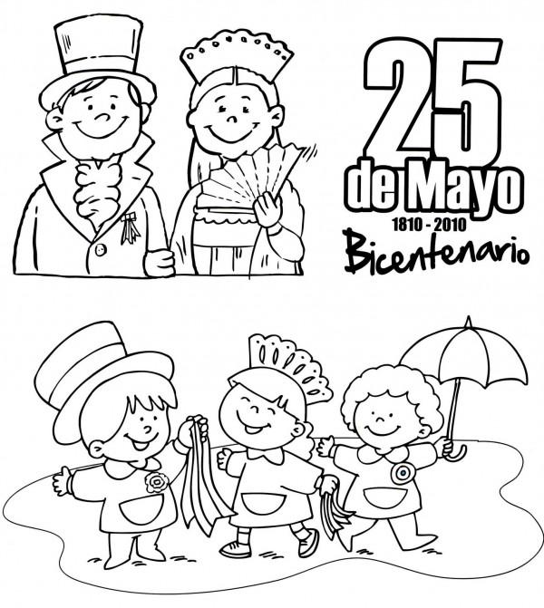 dibujos para colorear del 01 de mayo