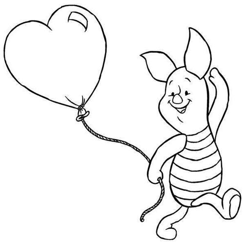 Winnie Pooh para colorear   Colorear imágenes