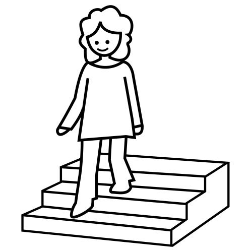 Escaleras para pintar colorear im genes - Fotos de escaleras ...