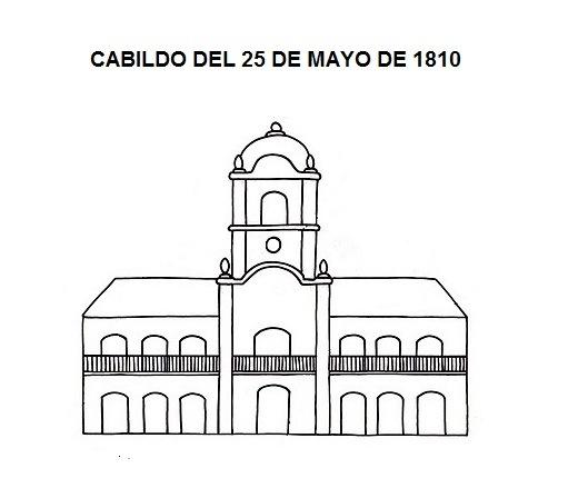 25 De Mayo De 1810 Para Colorear Y Divertirse Colorear