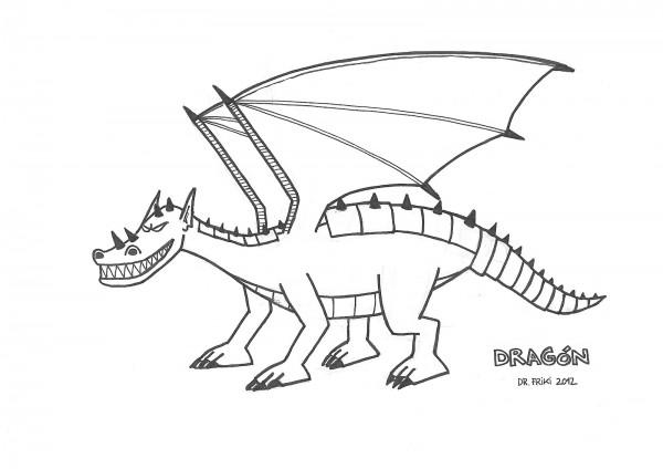 Colorear Dragones Para Dragones Para Colorear: + 30 Dibujos De Dragones Terroríficos Para Imprimir Y