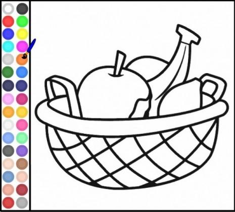 colorear_cesta_frutas
