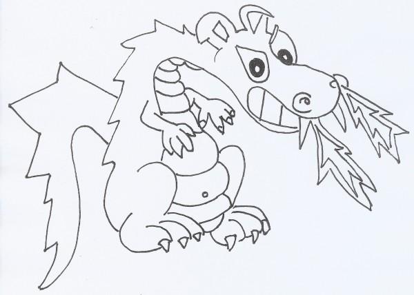 30 dibujos de dragones terroríficos para imprimir y pintar: Caras