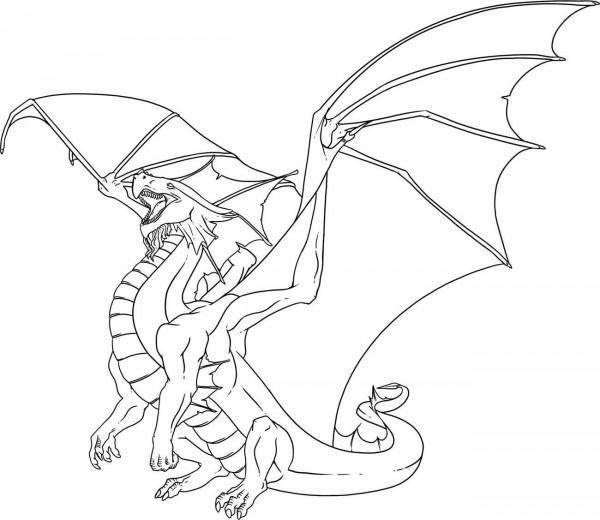 30 dibujos de dragones terror ficos