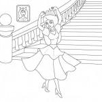 Para colorear las escaleras