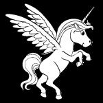 Para divertirse pintando Unicornios