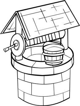 dibujo-para-colorear-pozo-de-agua-tt16189