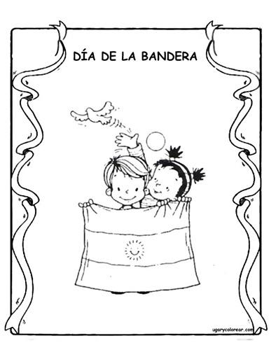Pintamos banderas argentinas para el 20 de junio im genes - Dibujo bandera inglesa ...