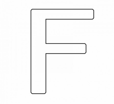 letras para colorear f (1)