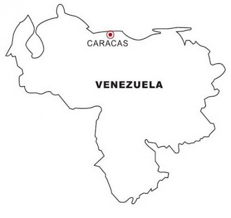 mapa-de-venezuela-para-colorear