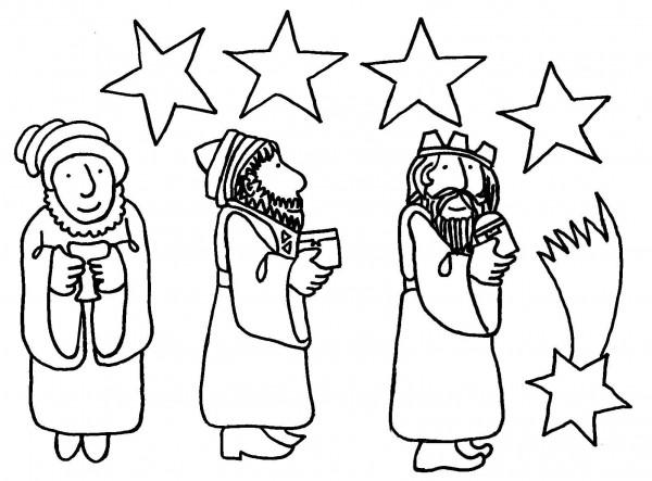 Dibujo De Rosca De Reyes Para Colorear: Cartas Para Los Reyes Y Dibujos Infantiles De Los Reyes