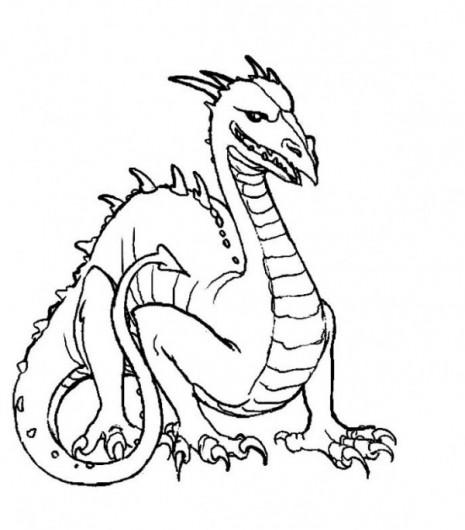 colorear-dragon-6-dibujos-infantiles