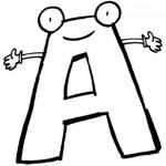 Diferentes letras, vocales y abecedarios para imprimir y colorear