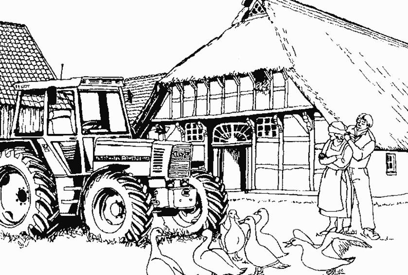 dibujos-colorear-tractor-granja