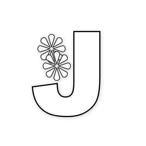 letras con flores primaverales2