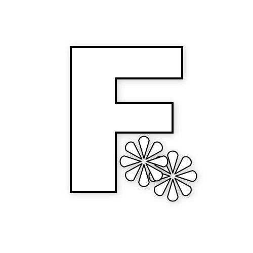 letras con flores primaverales4