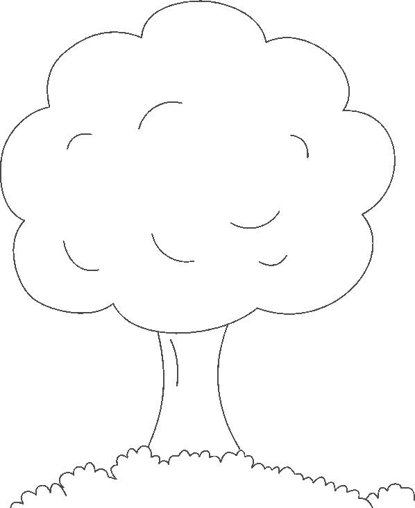 Dibujos De árboles Para Descargar Imprimir Y Colorear