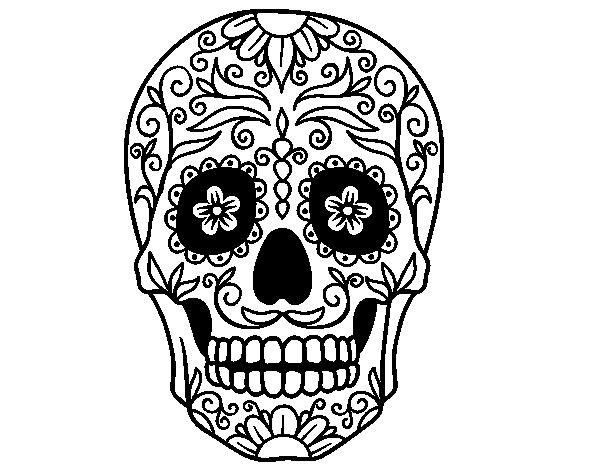 Imágenes De Calaveras Mexicanas Para Pintar Colorear Imágenes