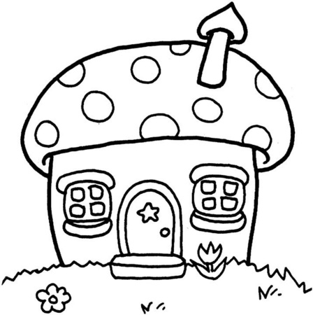 casa-hongo-dibujos-para-colorear