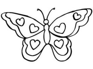 dibujos-de-mariposas-para-colorear-300x224