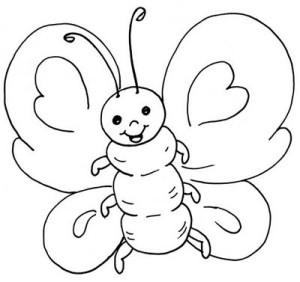imagenes-para-colorear-de-mariposas-300x282