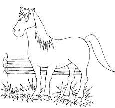 Dibujos de caballos para colorear colorear im genes for Disegno cavallo per bambini