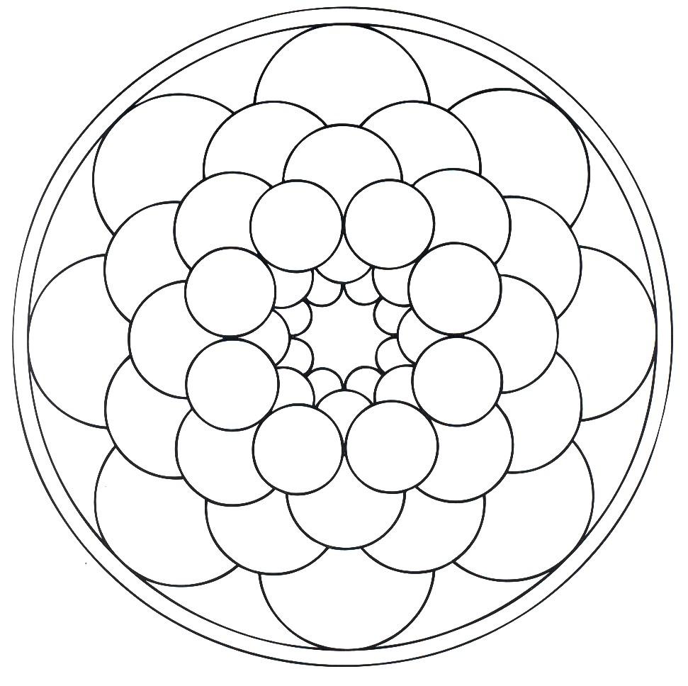 mandalas Flores cósmica