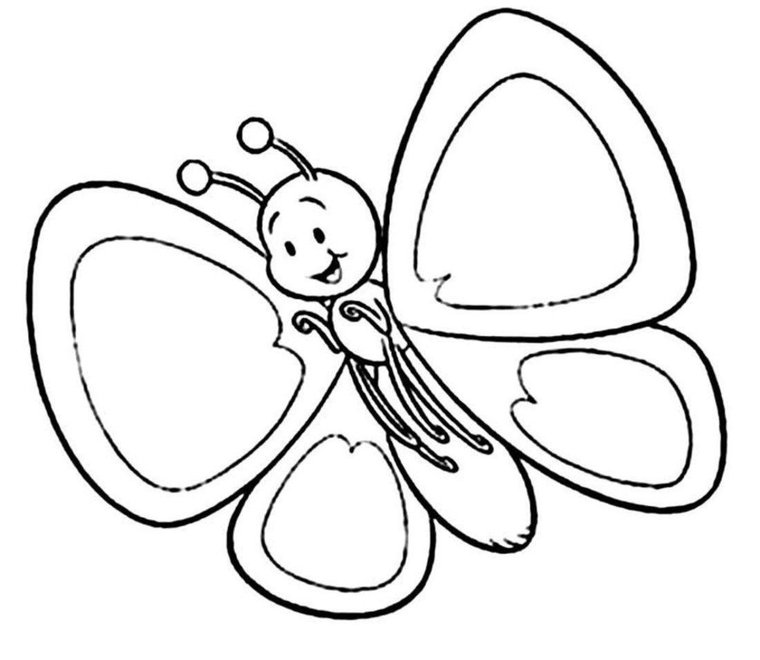 mariposa-infantil-para-colorear