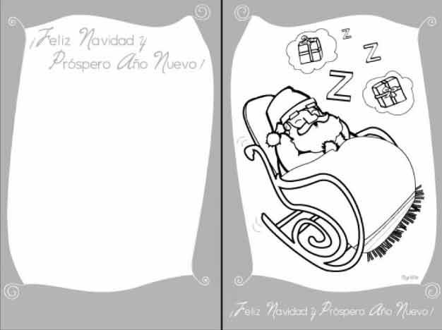 54 Dibujos de Navidad, Tarjetas , Papa Noel y Arbolitos de Navidad ...
