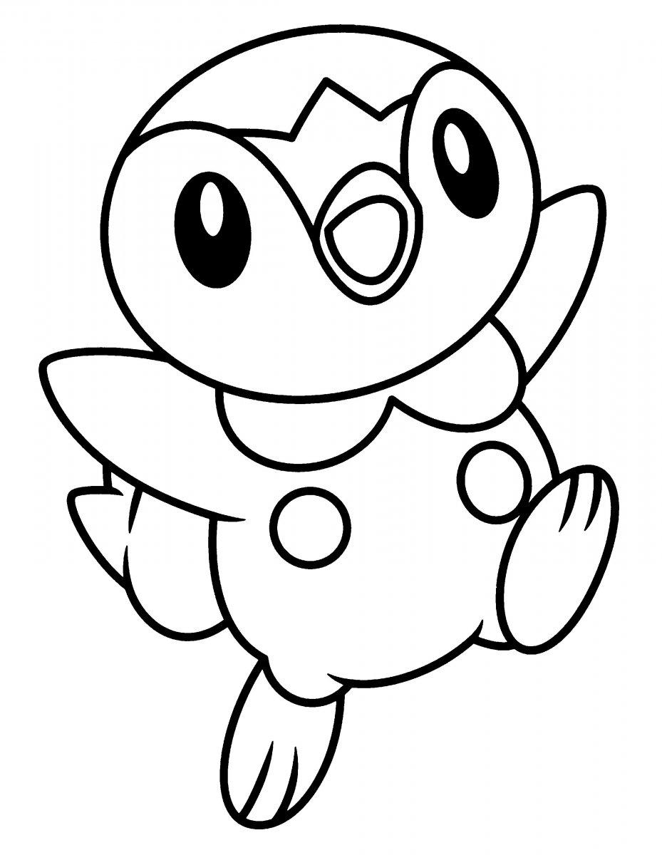 Dibujos de pok mon para imprimir y colorear con sus amigos for Black and white color pages