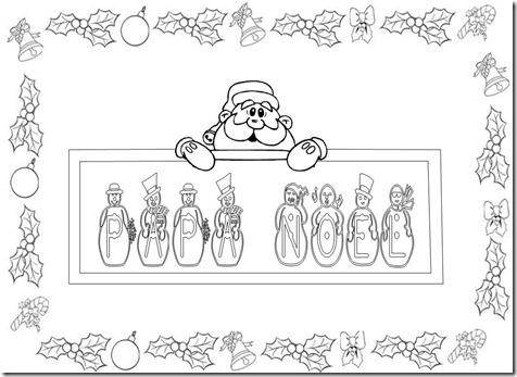 Feliz Navidad Rotulos.Letreros De Feliz Navidad Para Pintar Colorear Imagenes